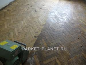 восстановление паркета москва